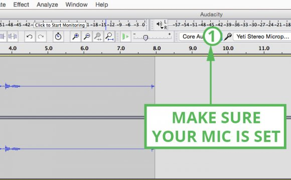 Audacity tutorial so set up