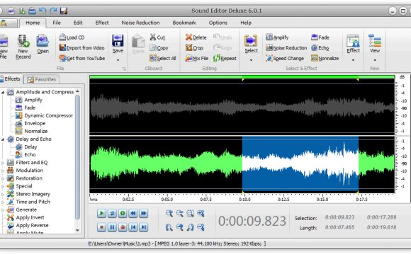 Sound Editor Deluxe 2012