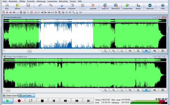 Free audio editing software