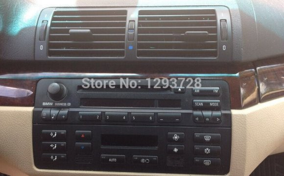 For BMW e46 capacitive touch