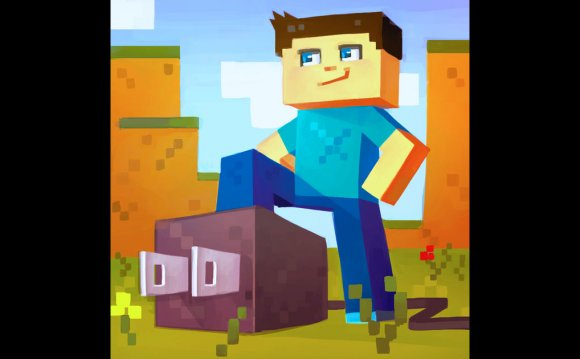 Plug for Minecraft PE on the