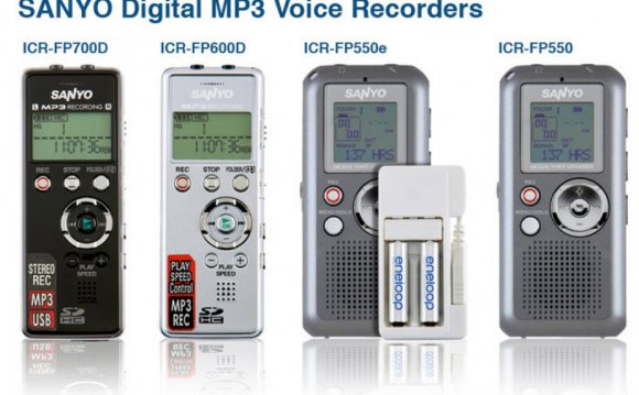 MP3 voice recorders