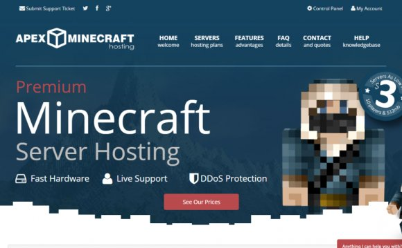 Host Review: Apex Minecraft