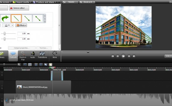 Camtasia Studio editing