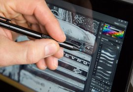 Adobe Photoshop CC on Microsoft Surface Pro