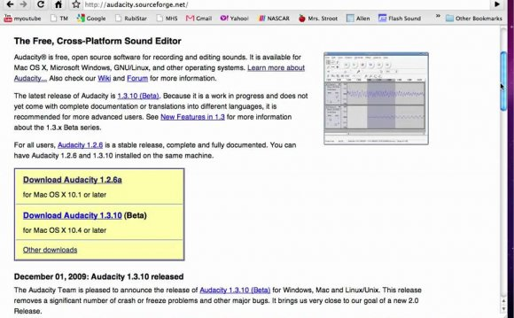 Audacity Download for Mac