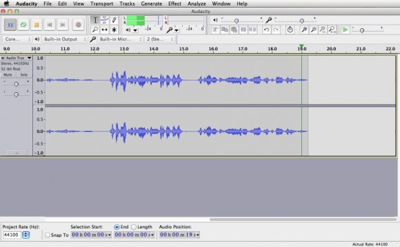 Audacity software free Download for Windows 7