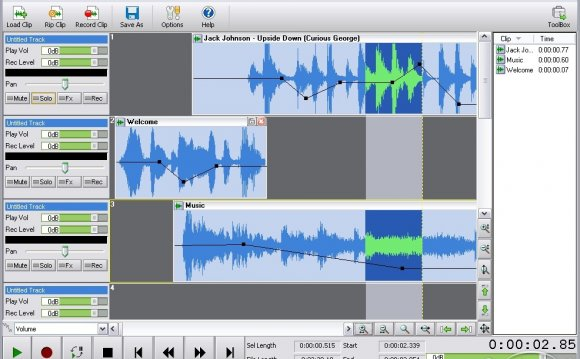 Audio mixing software Free
