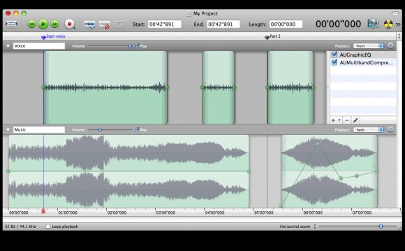 Audio editing Mac
