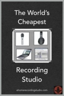 cheapest recording studio
