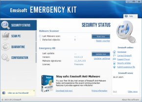Emsisoft Emergency Kit Free