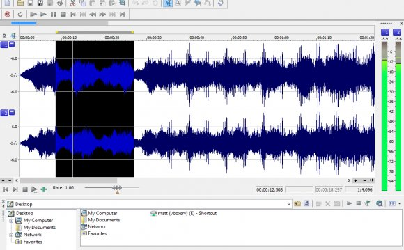 Free audio editing software Windows 8