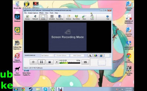 Recording software for PC