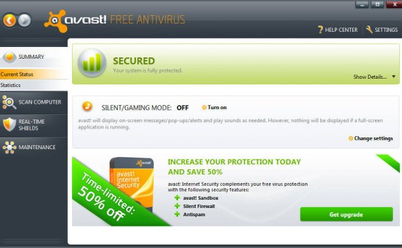 Best free antivirus 2012 for XP