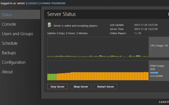 Minecraft server control panel free | Stories about Software
