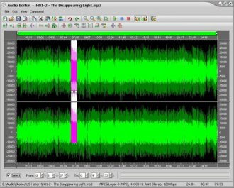 MP3 Editor and MP3 Editing Software