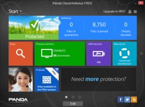 Panda Cloud Antivirus (Windows)