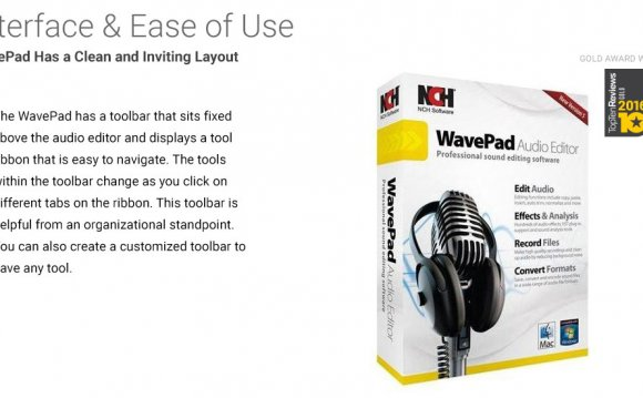 Audio editing software PC/