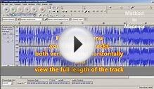 Audacity 2.0.3 sound editor- installation and basics- a