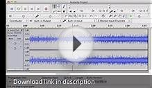 Audacity Download Free Full Version For Windows, Mac and Linux