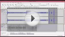 Audacity - Recording & Editing