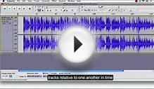 Audacity Tutorial 2: Audio Editing