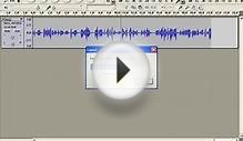 Audacity Tutorial Part Three: Basic Editing