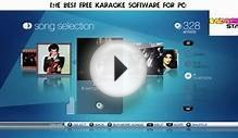 [Best FREE] Karaoke Software for PC with Download [Windows