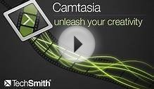 Camtasia Studio 8, Best Software for recording on your PC