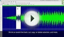 EArt Audio Editor - Edit, record, convert, split, join, or