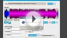 Edit MP3 Files with FreeClipper MP3