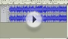 Editing Sound Files with Audacity