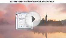 Free HD Screen Recorder for Games [Windows XP/7/8/MacOS