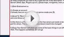 Free Minecraft Server Hosting GratisServer nu