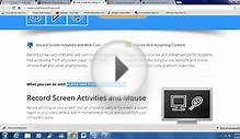 FREE VIDEO SCREEN RECORDING SOFTWARE - SCREEN CAPTURE - ELECTA