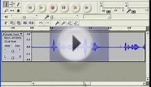 How to Record Audio using Audacity