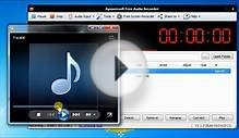 How to use Apowersoft Free Audio Recorder