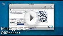 Mac App Review: QR Encoder