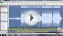 tutorial como quitar la voz en wave pad sound editor