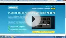 Tutorial: Download Free Screen Recording/Capturing Software