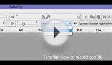 Tutorial: record Spotify for free with Audacity