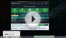 Windows 8.1 Quick tour AVG free antivirus